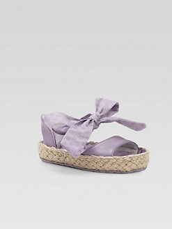 Gucci - Infant's GG Espadrille Sandals