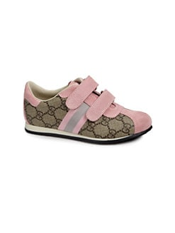 Gucci - Girl's GG Grip-Tape Sneakers