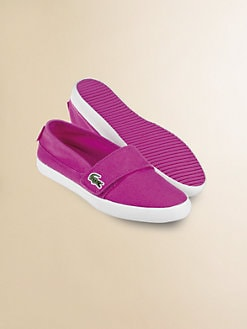 Lacoste - Little Girl's Slip-on Sneakers