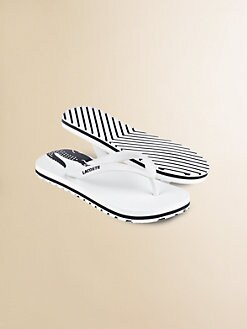 Lacoste - Little Boy's Signature Flip Flops