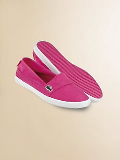 Lacoste - Girl's Slip-on Sneakers