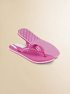 Lacoste - Girl's Signature Flip Flops