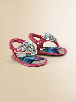 Stuart Weitzman - Infant's Jeweled Sandals