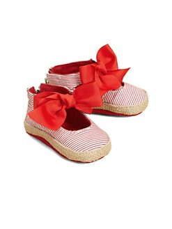 Stuart Weitzman - Infant's Bow-Tied Espadrilles