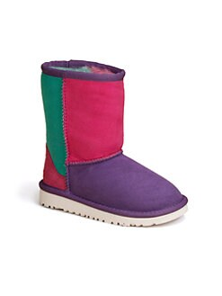 UGG Australia - Girl and Toddler's Classic Patchwork Boots