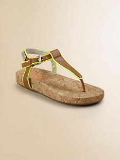 Kors Kids - Girl's Cork Sandals