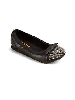 Kors Kids - Girl's Studded Ballet Flats