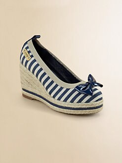 Kors Kids - Girl's Striped Wedge Heels