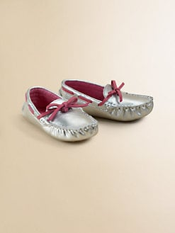 Cole Haan - Infant's Metallic Moccasins