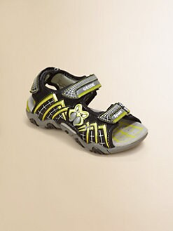 Geox - Little Boy's & Boy's Light Up Spiderweb Sportshoes