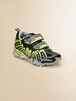Geox - Little Boy's & Boy's Light-Up Spiderweb Sneakers