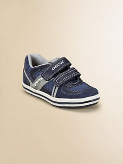 Geox - Little Boy's & Boy's Mesh/Leather Sneakers