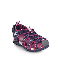Geox - Toddler's & Girl's Roxanne Grip-Tape Sneakers