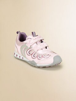 Geox - Little Girl's & Girl's Sparkle Light-Up Sneakers