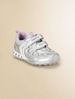 Geox - Little Girl's & Girl's Metallic Light-Up Sneakers