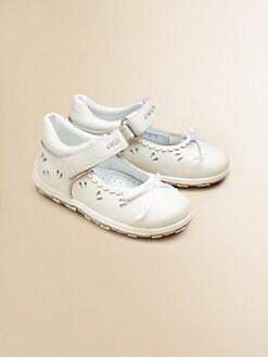 Geox - Infant's & Toddler Girl's Bubble Leather Shoes