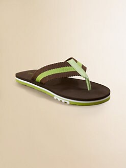Cole Haan - Boy's Striped Flip Flops