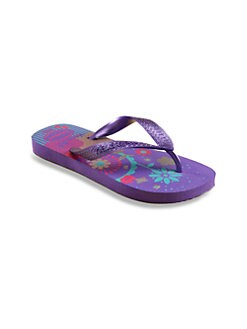 Havaianas - Little Girl's & Girl's Floral Flip Flops