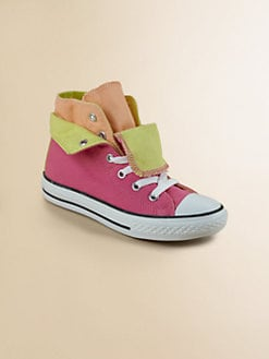 Converse - Girl's Chuck Taylor All-Stars Two-Fold High-Top Sneakers