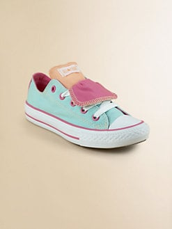 Converse - Girl's Chuck Taylor All-Stars Double Tongue Sneakers