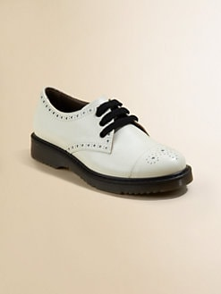 Marni - Toddler's & Girl's Leather Wingtip Oxfords