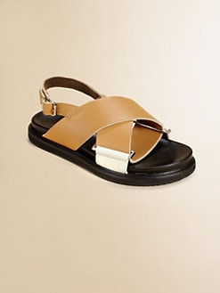Marni - Toddler's & Little Girl's Leather Sandals