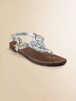 Dolce Vita - Girl's Braided Thong Sandals