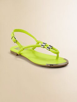 Dolce Vita - Girl's Neon Thong Sandals