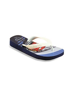 Havaianas - Little Boy's & Boy's Cars Flip Flops