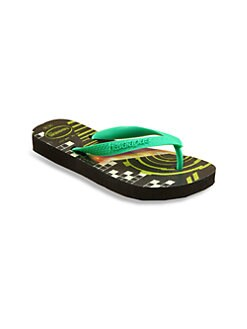 Havaianas - Little Boy's & Boy's Glow-in-the-Dark Toy Story Flip Flops