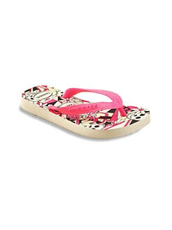 Havaianas - Little Girl's & Girl's Glow-in-the-Dark Flip Flops