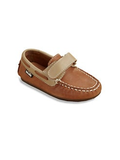 Venettini - Toddler's & Boy's Two-Tone Leather Slip-Ons