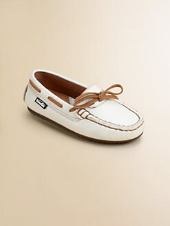 Venettini - Toddler's & Boy's Leather Boat Shoes