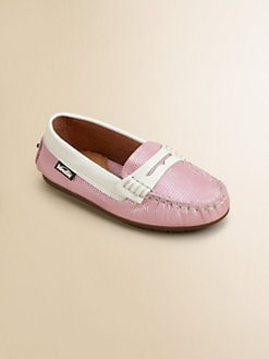 Venettini - Toddler's & Girl's Shimmer Penny Loafers