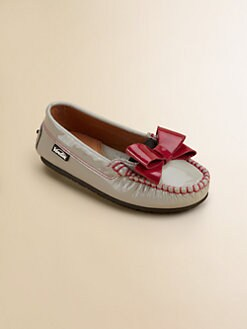 Venettini - Toddler's & Girl's Patent Leather Moccasins