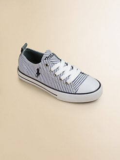 Ralph Lauren - Girl's Brooster Striped Sneakers