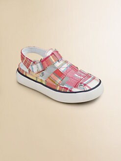 Ralph Lauren - Infant's & Toddler Girl's Sander Fisherman Plaid Sandals