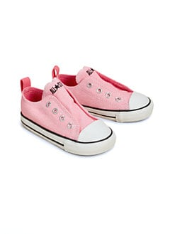 Converse - Infant's & Toddler's Chuck Taylor All Star Simple Slip-On Sneakers