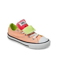 Converse - Girl's Chuck Taylor All Star Double Tongue Sneakers