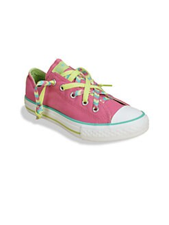 Converse - Girl's Chuck Taylor All Star Kriss-Kross Slip-On Sneakers