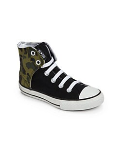 Converse - Boy's Chuck Taylor All Star Printed-Panel High Sneakers