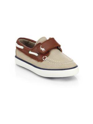 Infant's & Toddler's Sander Grip-Tape Boat Shoes