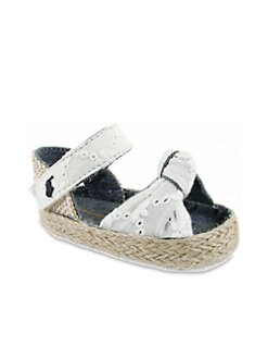 Ralph Lauren - Infant's Eyelet Espadrille Flats