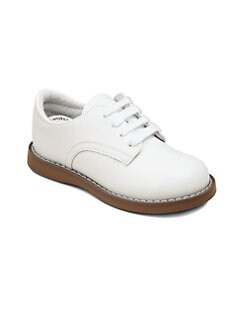 Footmates - Infant's, Toddler's & Kid's Leather Oxford Saddle Shoes