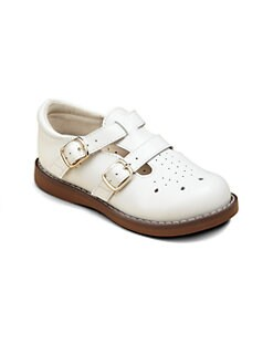 Footmates - Toddler's & Girl's Danielle English Sandals
