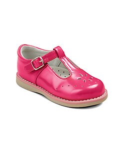 Footmates - Infant's, Toddler's & Girl's Sherry Patent Leather T-Strap Sandals