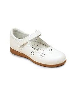 Footmates - Toddler's & Girl's Leather Mary Jane Flats