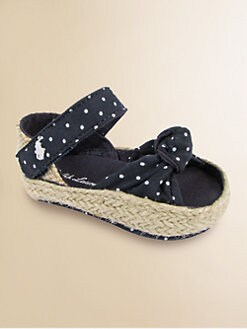 Ralph Lauren - Infant's Polka Dot Fistina Sandals
