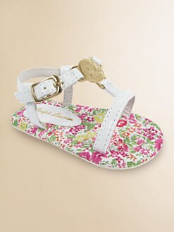 Ralph Lauren - Infant's Sueanne Floral Sandals