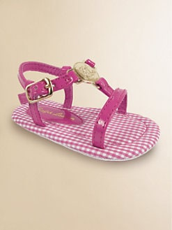 Ralph Lauren - Infant's Sueanne Gingham Sandals